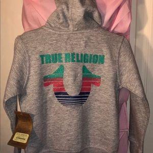 Toddler True Religion matching set 3T